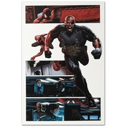 """Marvel Comics """"Ultimate Power #6"""" Numbered Limited Edition Giclee on Canvas by Greg Land with COA."""
