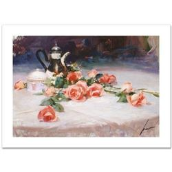 """Pino (1939-2010) """"Long Stem Lovelies"""" Limited Edition Giclee. Numbered and Hand Signed; Certificate"""