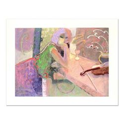 """Sabzi, """"Silent Song"""" Limited Edition Hand Embellished, Numbered and Hand Signed with Certificate."""