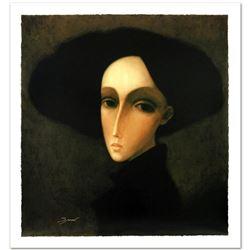 "Legendary Russian Artist Sergey Smirnov (1953-2006). ""Baroness"" Limited Edition Mixed Media on Canva"