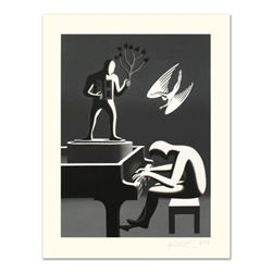 """Mark Kostabi, """"Cyclone Variations"""" Limited Edition Serigraph, Numbered and Hand Signed with Certific"""