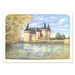 """Rolf Rafflewski, """"Chateau VII"""" Limited Edition Lithograph, Numbered and Hand Signed."""