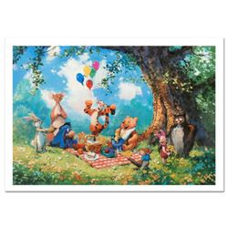 """Splendiferous Picnic"" Limited Edition Lithograph by James Coleman, Numbered and Hand Signed with Ce"