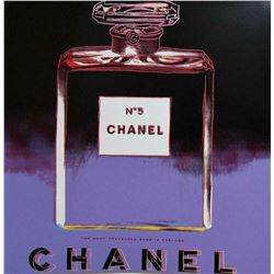 """Andy Warhol- Screenprint in colors """"CHANEL No 5"""""""