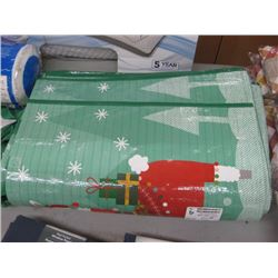 STACK OF REUSABLE XMAS BAGS