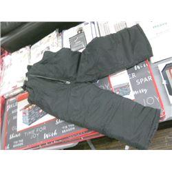 CARTERS 4T BLACK SNOW PANTS