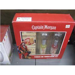 CAPTAIN MORGAN RIMBER ME TOWER GAME SET