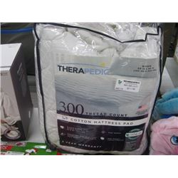 THERAPEDIC QUEEN MATTRESS PAD