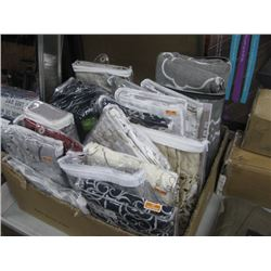HUGE BOX OF CURTAIN PANELS