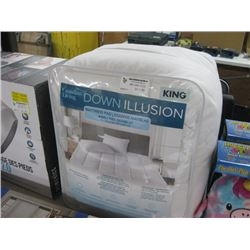 CANADIAN LIVING DOWN ILLUSIONS KING MATTRESS PAD