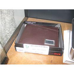 RFID BROWN WALLET
