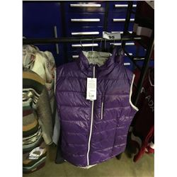 5 ASSORTED SIZED SECOND SKIN JACKET VESTS & CANADA BRANDED SWEAT SHIRT