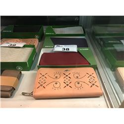 4 ASSORTED ROOTS 73 LADIES WALLETS
