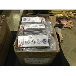 BOX OF CANADA BRANDED TIN BADGES