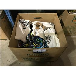 BOX OF FIRST NATIONS FLIP-FLOPS