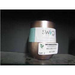 SWIG 12 OZ WINE ROSE GOLD