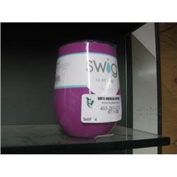 SWIG 12 OZ WINE MAGENTA