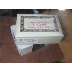 SOMEONE SPECIAL TRINKET BOX W/ BOX