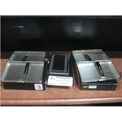 2PC PLAIN BRUSHED CIGARETTE CASE AND CARD HOLDER