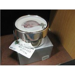 BAPTISM TRINKET BOX W/ BOX