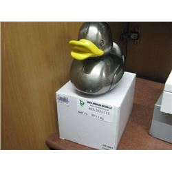 YELLOW DUCK PIGGY BANK W/ BOX