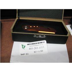 ORANGE POCKET KNIFE W/ BOX
