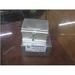 CROSS TRINKET BOX BRUSHED SILVER W/ BOX