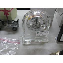 CRYSTAL SKELETON CLOCK