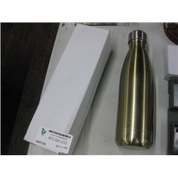 17 OZ THERMAL WATER BOTTLE GOLD