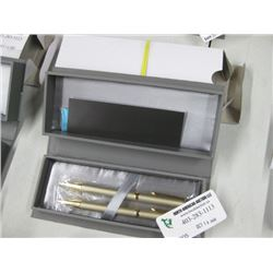 CADENCE GOLD BALLPOINT PEN 2PC W/ BOX
