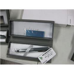 CADENCE MATTE GREY BALLPOINT PEN W/ BOX