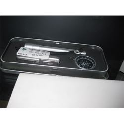 KNIFE WITH COMPASS AND FLASHLIGHT W/ BOX