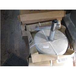 COMMERCIAL WEIGHTED UMBRELLA STAND