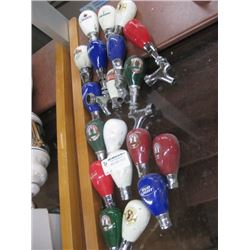 20PC SMALL BEER TAP HANDLES