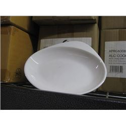 APRCAOD81 CASE OF 12 PC CHURCHILL OVAL DISH 7.75 INCH