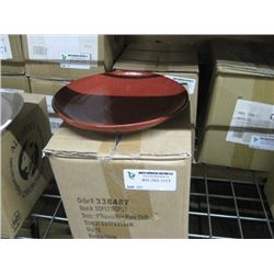 12PC FOH 8 INCH ROUND KILN PLATE CHILI