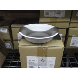 WHSB81 CHURCHILL CASE OF 12PC - WHITE SERVING BOWL 8.5 INCH