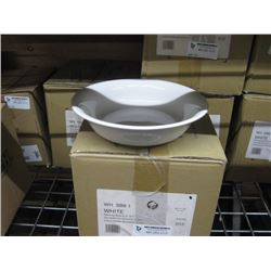 WHSB81 CHURCHILL CASE OF 7PC - WHITE SERVING BOWL 8.5 INCH