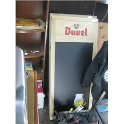 DUUEL DOUBLE SIDED CHAULK SANDWHICH BOARD