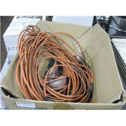 EXTENSION CORDS / HEAT LAMPS