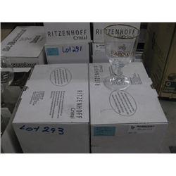 2 BOXES / 12 GLASSES GOUDEN CAROLUS GLASSES
