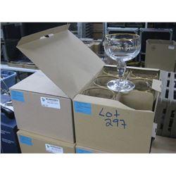 2 BOXES / 12 GLASSES TRAPPISTES ROCHEFORT GLASSES