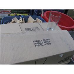 BOX OF 2 DOZEN 20 OZ BEER GLASSES
