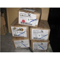 5 BOXES OF 6PC OPEN SUGAR BOWL 3OZ
