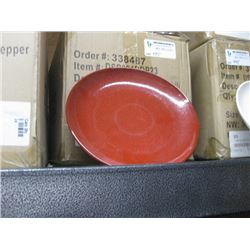 24PC FOH 8 INCH ROUND KILN PLATE PEPPER