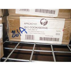 APRCAO101 6PC ALC COOK/SERVE OVAL DISH 10 INCH