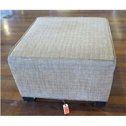 "Square Upholstered Ottoman  27"" x 27"" x 18"""