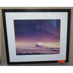 "Framed & Matted Wave Art  28"" x 24"""