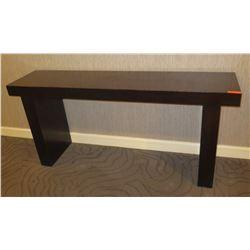 "Dark Wooden Console Table 78"" x 18"" x 36"""