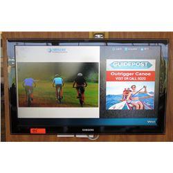 Samsung Wall-Mount Flat Screen TV